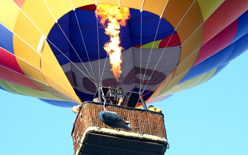 기구(Hot air balloon)타기