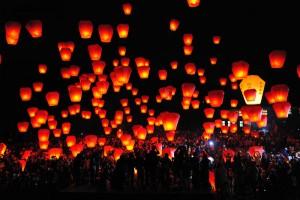 태국 등불축제(러이끄라통) 참가하기