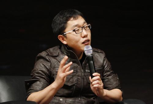 김제동 만나서 사진찍기