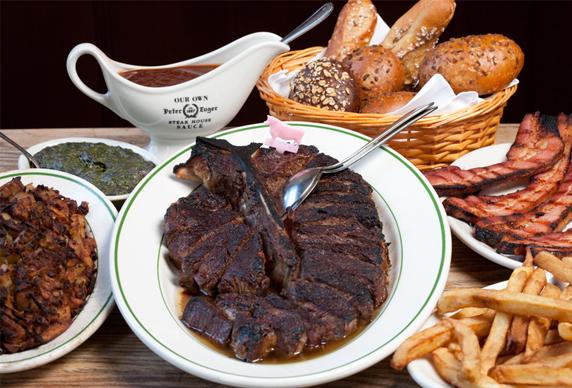 피터 루거 스테이크 하우스(Peter Luger Steak House)에서 스테이크 먹기