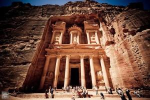 요르단의 고대도시 페트라 여행