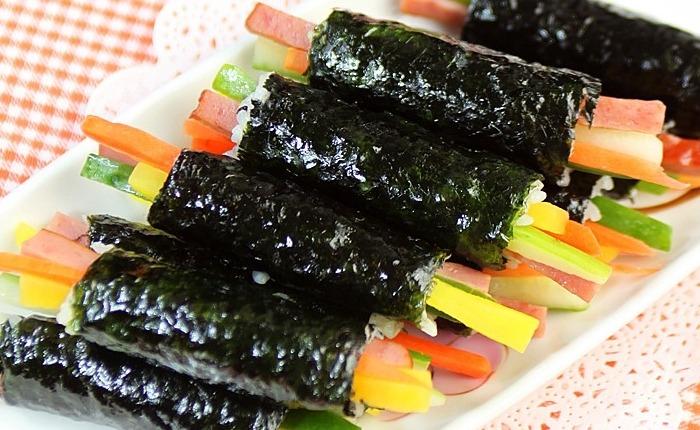 맛있는 김밥 만들기