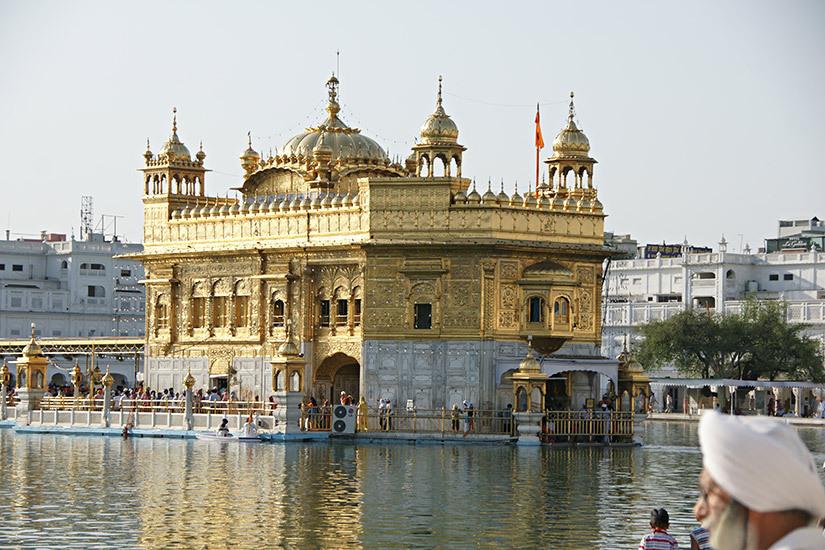 인도 암리차르 황금사원 여행