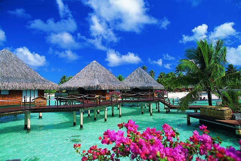 보라보라 섬 여행
