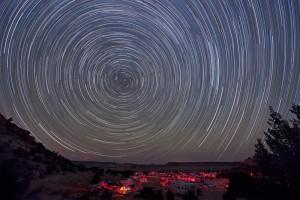 별의 일주운동(diurnal motion)사진 찍기