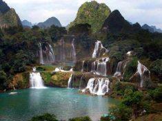 중국과 베트남 경계의 더톈폭포 가보기