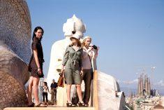 바르셀로나에서 우디 앨런의 영화 장면 방문
