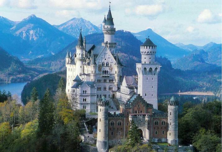 독일 노이슈반슈타인 성에 가기