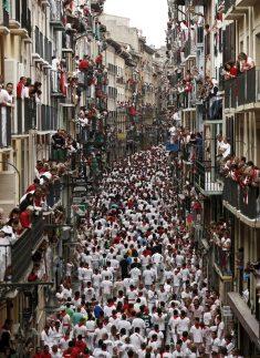 스페인 산페르민축제 즐기기
