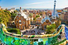 스페인 바르셀로나 구엘공원