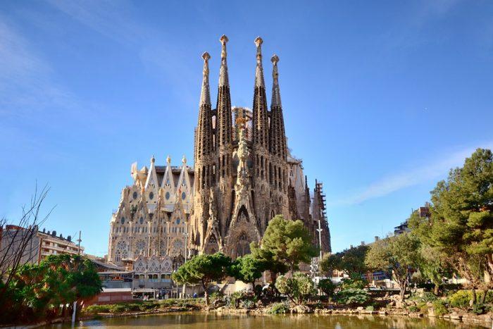 스페인 사그라다 파밀리아 성당방문
