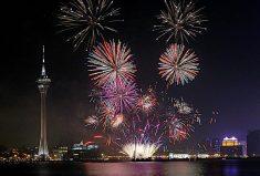 마카오 세계 불꽃축제 구경하기